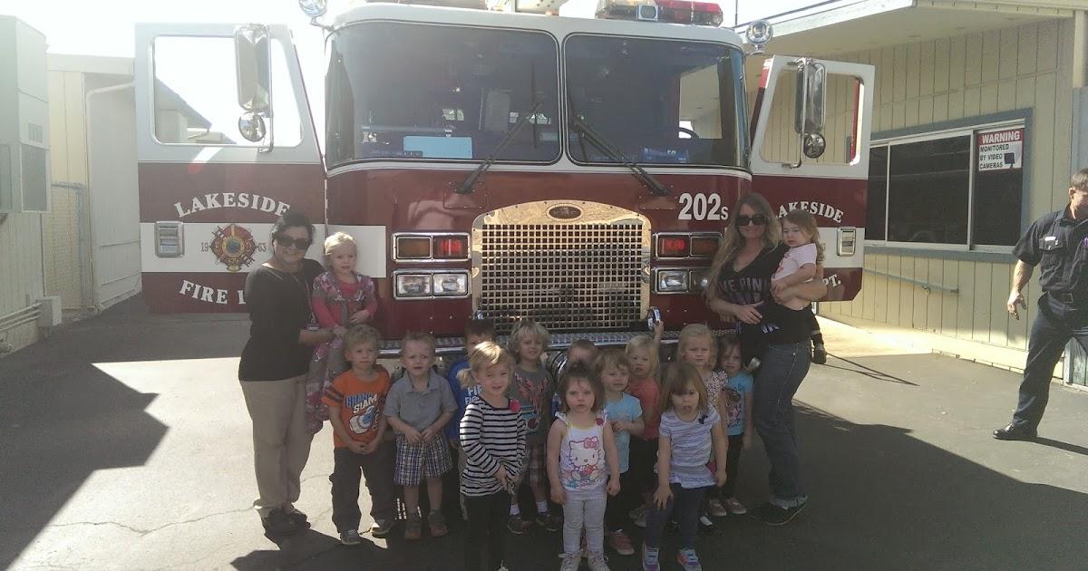 Lakeside Fire District Winter Gardens Elementary School Fire Safety Demonstration