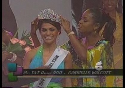 Gabrielle Walcott was crowned Miss Universe Trinidad and Tobago Universe 2011