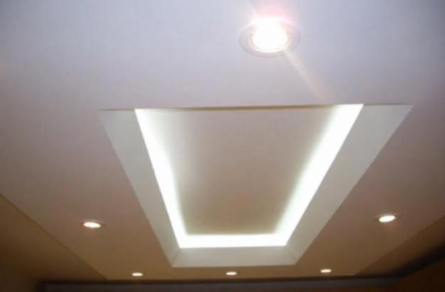 Plafond s a for Techos en drywall modernos