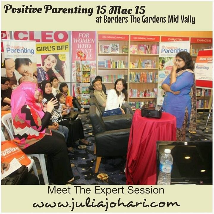 """Mommy Bloggers Hadiri Jemputan Positive Parenting """"Meets The Experts Session"""""""