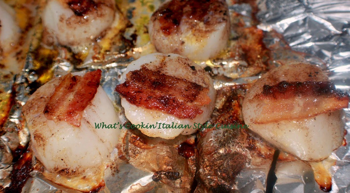 ... Cookin' Italian Style Cuisine: Grilled Bacon wrapped Scallop Recipe