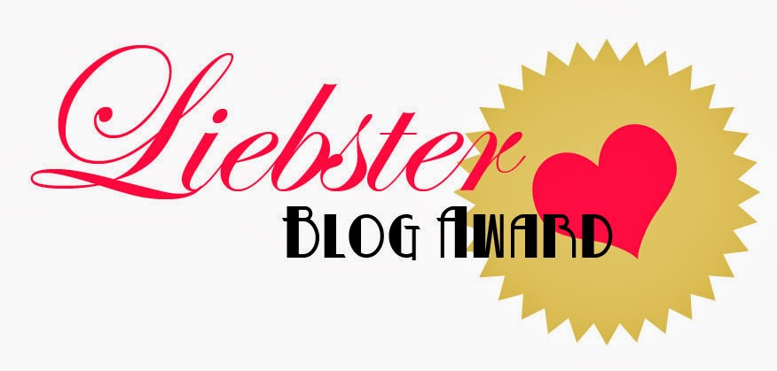 Liebster Blog Award !