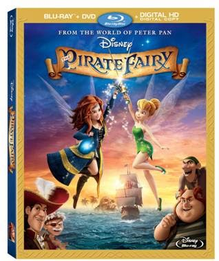 Disney, The Pirate Fairy, family movies, tinkerbell