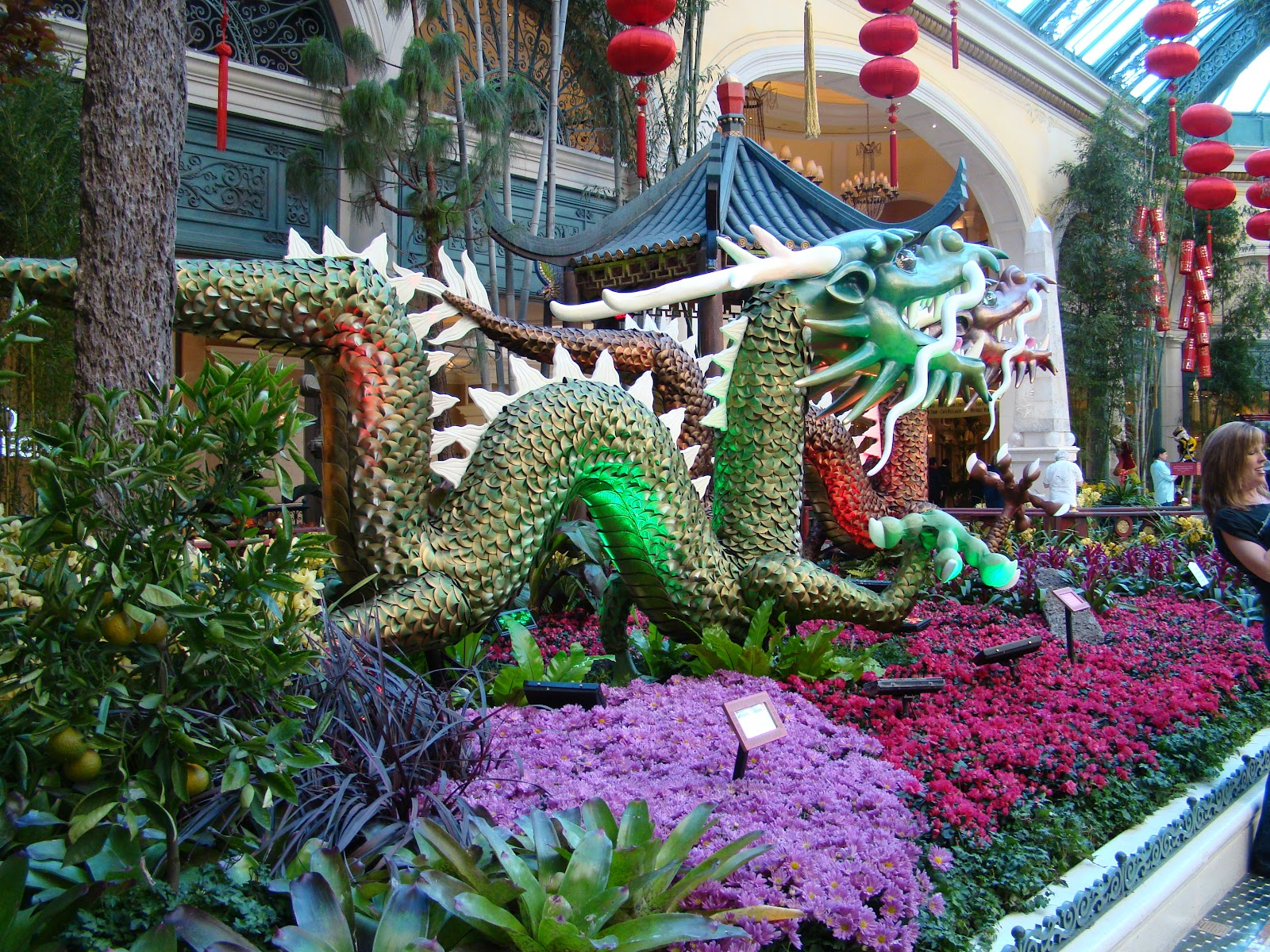 Las Vegas Bellagio ~ Conservatory And Botanical Garden