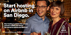 Sign up as an AirBnB Host With SanDiegoVille and make an extra $200!!!