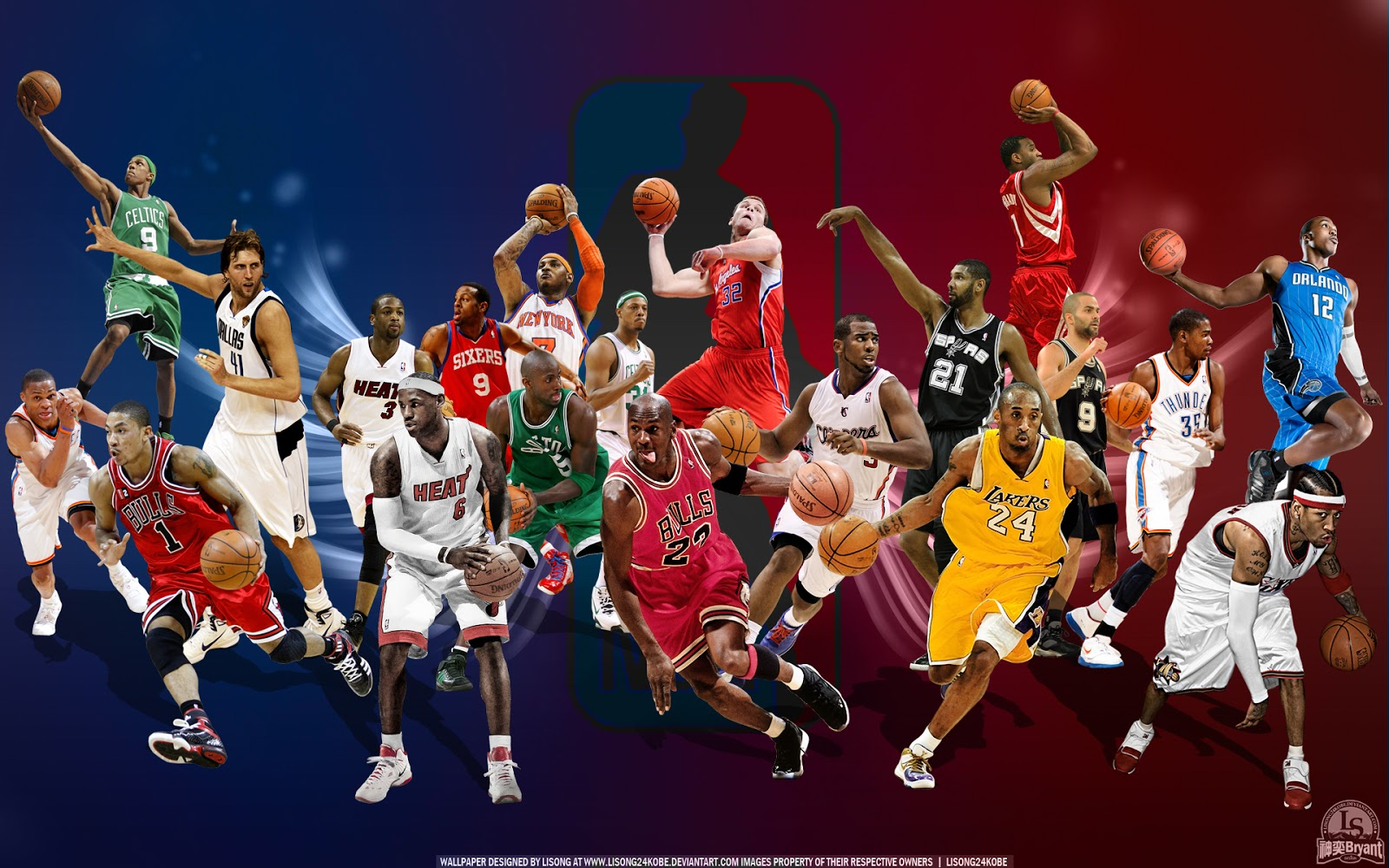 Fondos para whatsapp patada de caballo nba fondos de - Nba all teams wallpaper ...