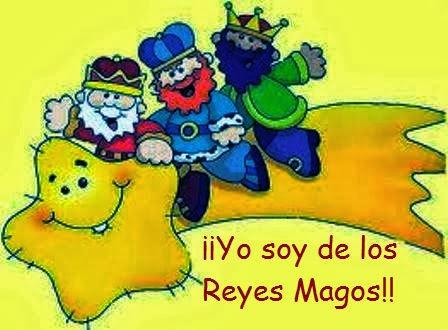 ¡¡YO SOY DE LOS REYES MAGOS!!