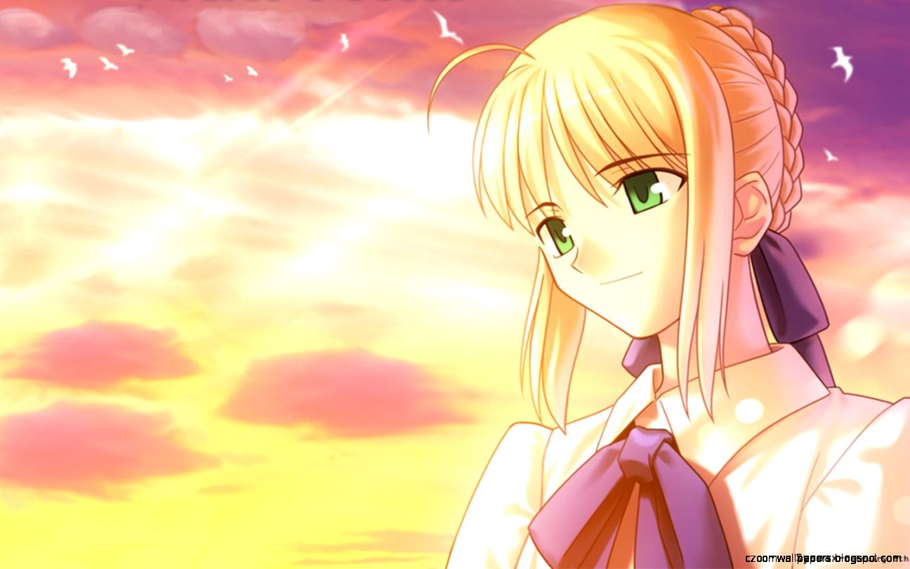 saber fate stay night wallpaper | zoom wallpapers