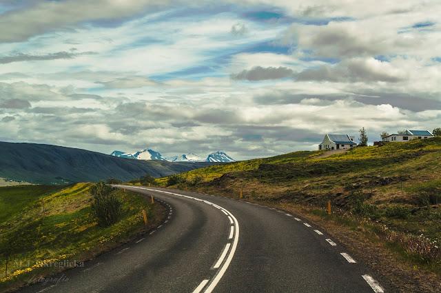 islandzkie widoki, droga