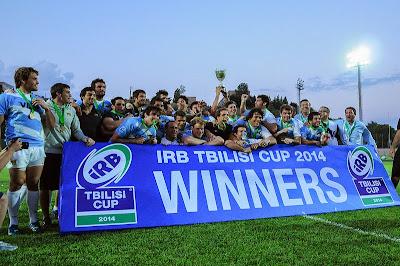 Los Jaguares, campeones de la Tbilisi Cup
