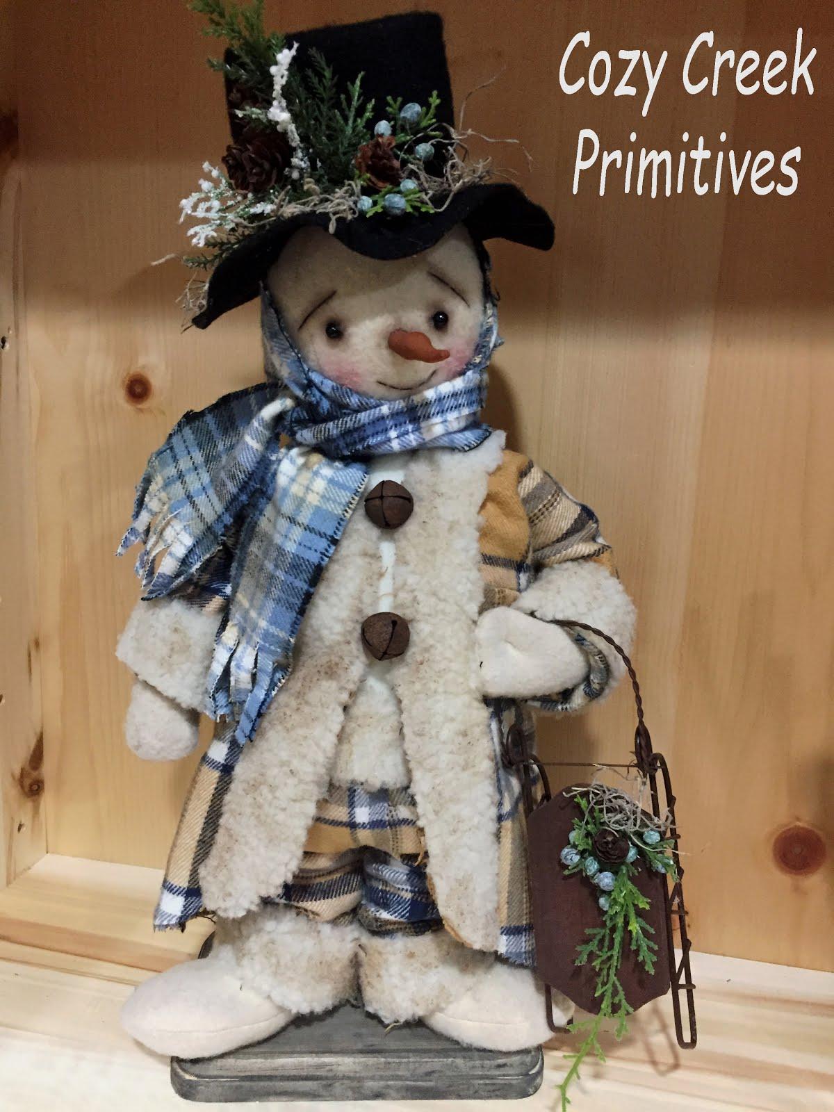 Sledding Snowman 2017