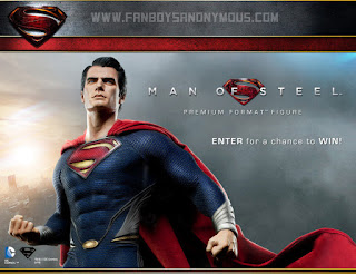 Buy Sideshow Collectible Man of Steel Premium Format Figure Online