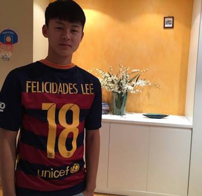 Seung Woo Lee jugador Barcelona