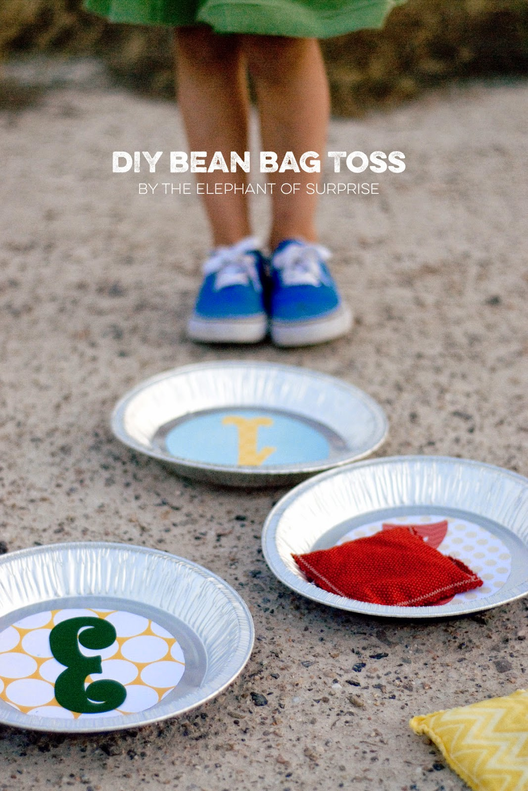 The Party Hop: Autumn Market bean bag toss
