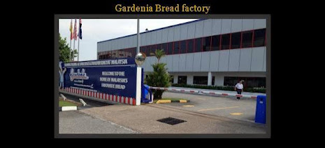 Barrier gate at Gardenia factory