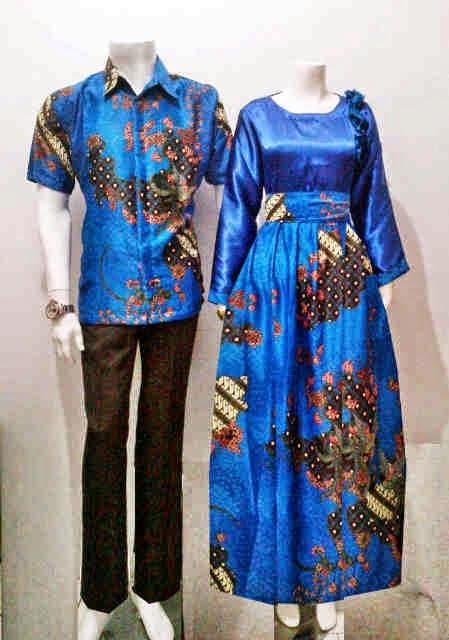 Baju Gamis Model Batik Seri Marshanda Batik Bagoes Solo