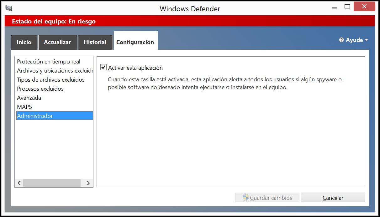 imahginable: Cómo desactivar Windows Defender y detener su servicio