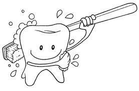 Maestra linda lavarsi i denti anche a scuola for A quanti mesi i cani cambiano i denti