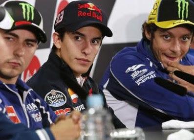 Lorenzo, Marquez dan Rossi Cidera, Siapa Absen di GP Jepang?