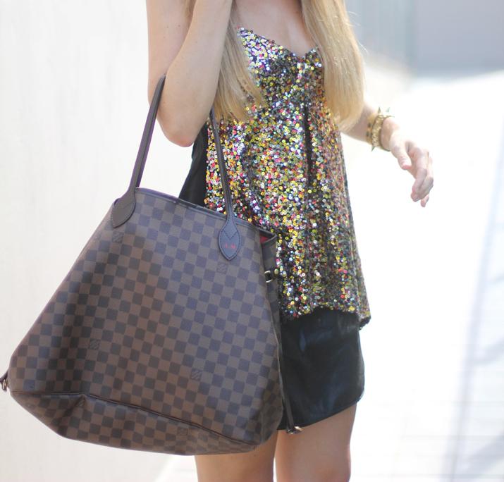 Louis Vuitton Neverfull GM fashion bloggers