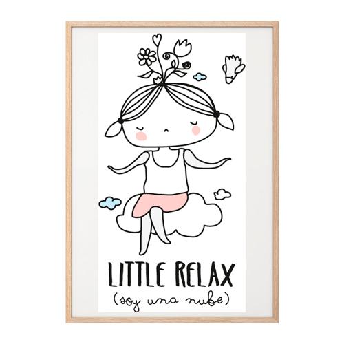 Lámina Little relax para chicas estresadas