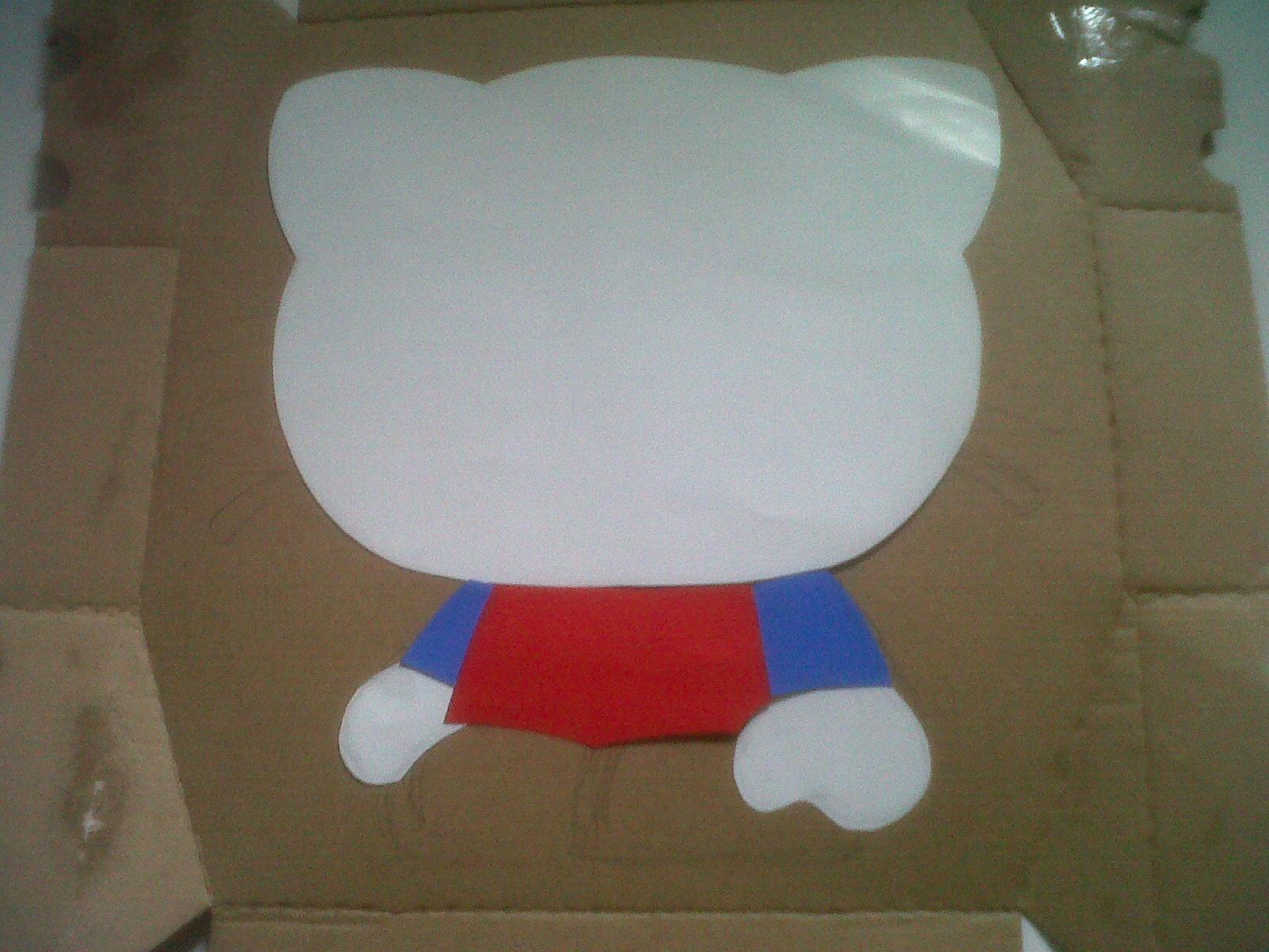 Model Hello Kitty 2 membuat tangan