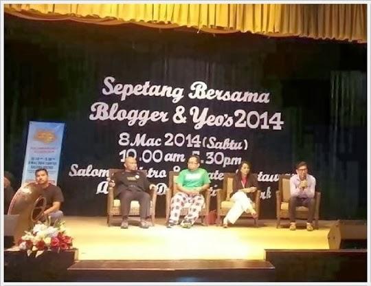 Panel Blogger di Sepetang Bersama Blogger 2014