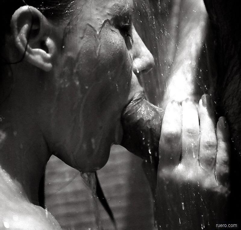 Anal no chuveiro