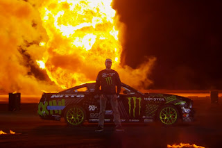 Vaughn Gittin Jr's 'Fire Drift'