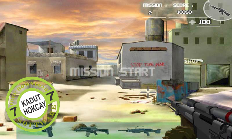 Free Download Anti Terror Shooter V1.2 Apk Full Game Android