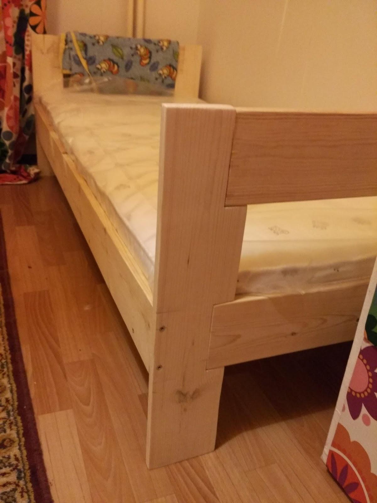 Кроватку своими руками за 1600р 45