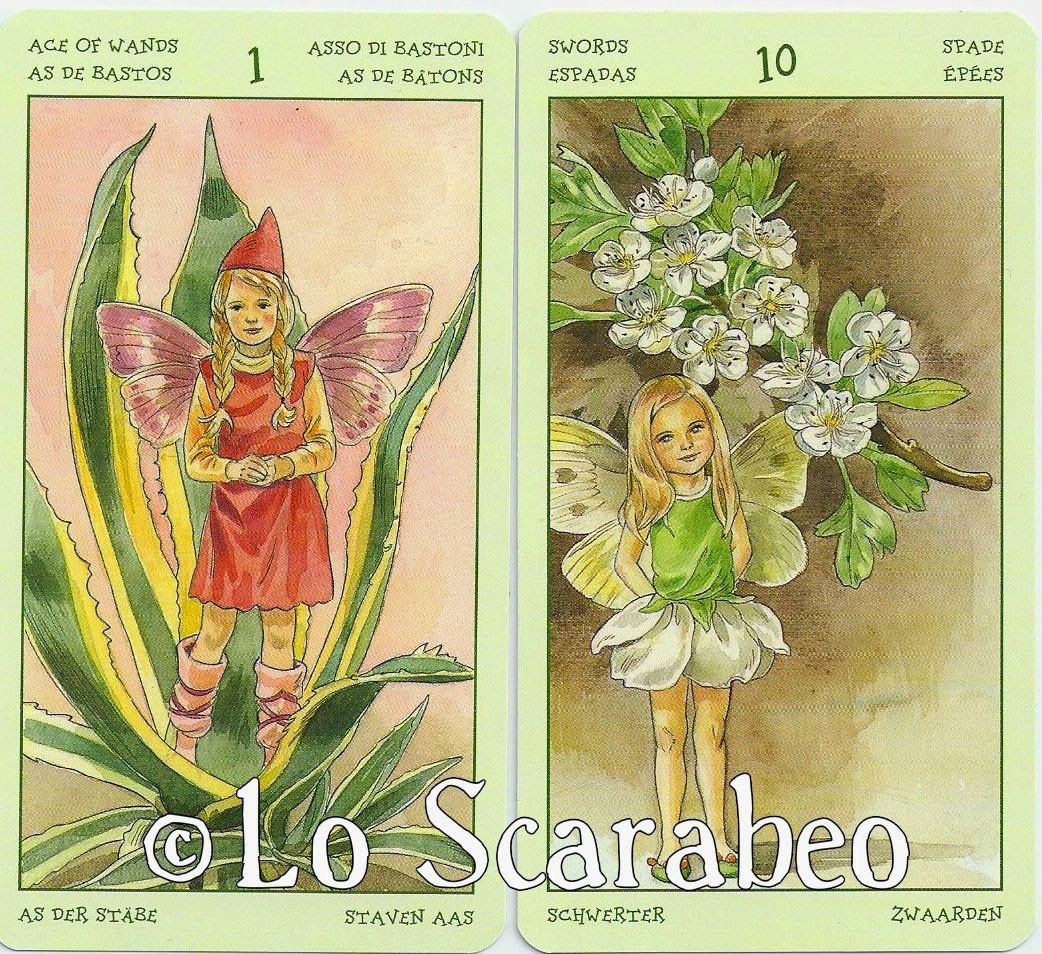 Inner Whispers Spirit Of Flowers Tarot Overview