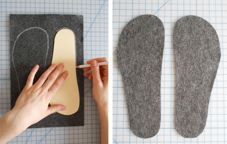 Тапочки из открыток своими руками шаблоны