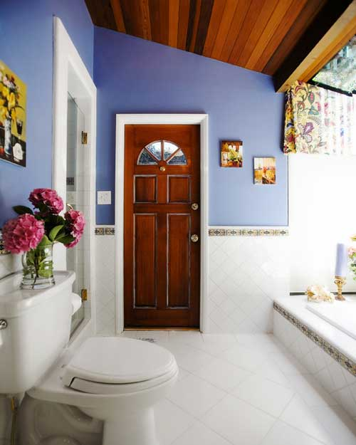 Puertas de ba o proyectos de casas for Cerrojo para puerta de bano