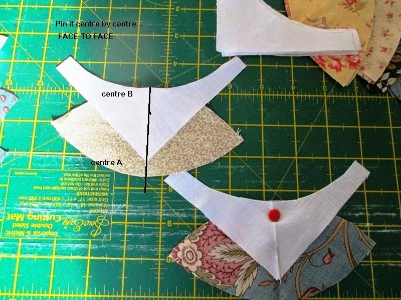 Orange peel template for wool applique free