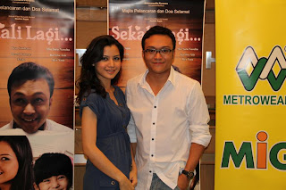 Shaheizy Sam,Lisa Surihani,Sekali Lagi,Filem Baru Metrowealth Pictures,Adik Mia Sara Nasuha