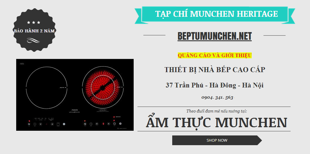 BẾP ĐIỆN TỪ MUNCHEN