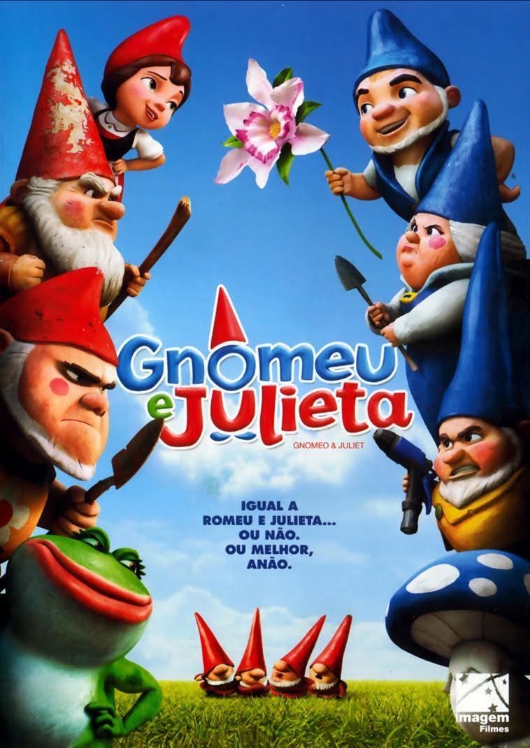 Filme Gnomeu e Julieta Dublado AVI DVDRip