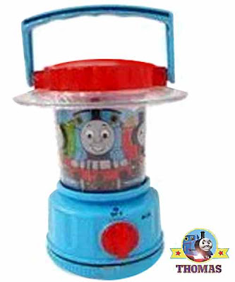 Railway conductor Thomas lantern light for children in blue colorful flashlight train graphic images