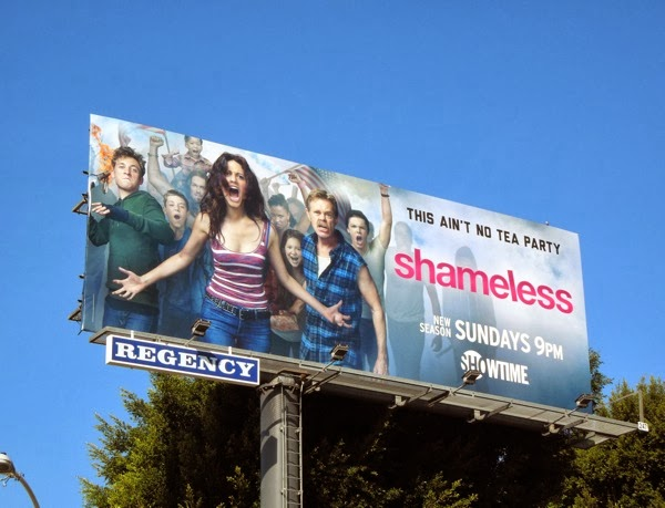 Shameless season 4 USA billboard