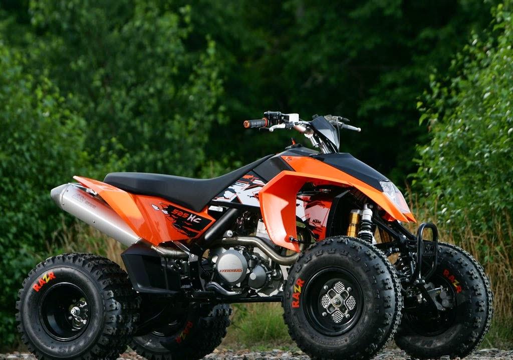 KTM 525 XC ATV Sports New Bikes HD Photos