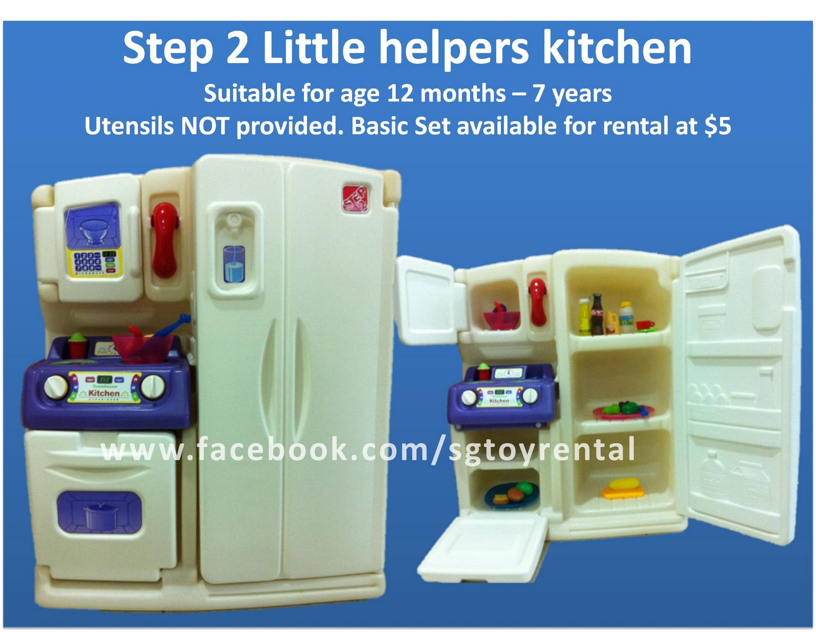 Singapore Toy Rental Step 2 little helpers kitchen