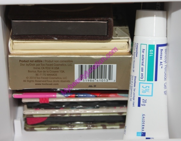 Makeup storage ideas: Lori Greiner rotating cosmetics organiser review