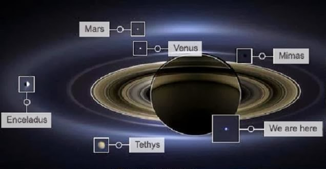 Foto Menakjubkan Rilisan NASA Mengungkap 7 Benda Langit