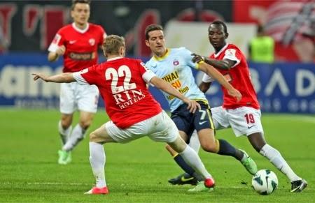 Meci de fotbal din liga 1 editia 2014