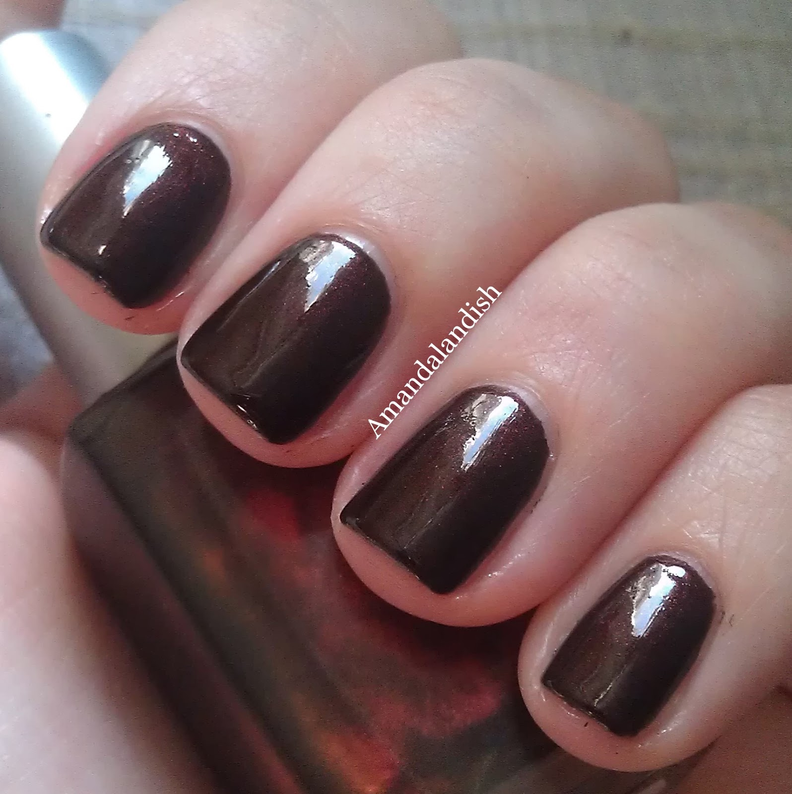 Amandalandish: Diamond Cosmetics Cherry Tobacco
