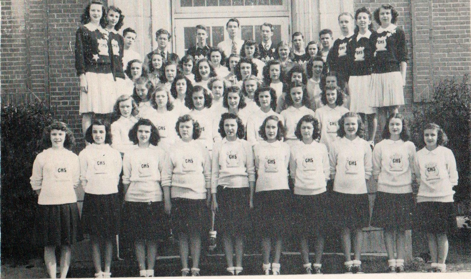 Glee Club Cradock High School 1946