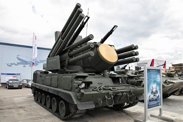 Pantsir-S short-range air defense system