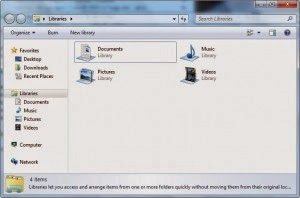 Make Windows 7 Explorer open the Computer folder instead of Libraries