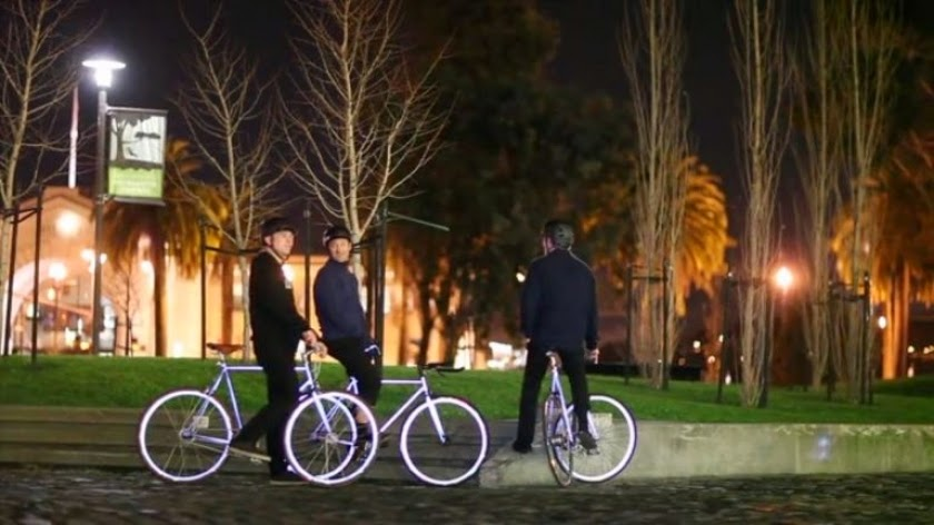 Glow in the dark Bikes, glow in the dark, glow bikes, glowing bikes, cycling, Lumen bikes